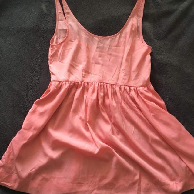 Mossman size 8 pink mini dress