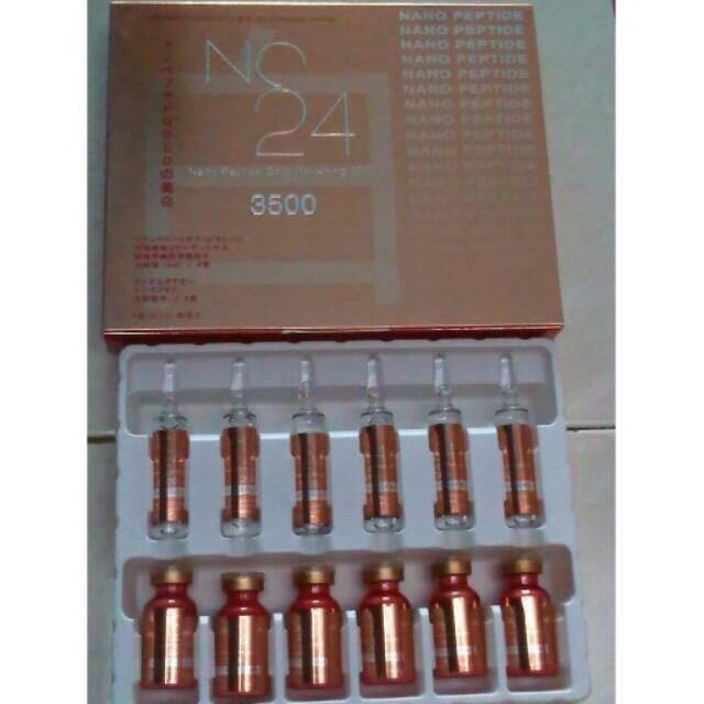 NC24 gold / NC24 nano peptide gold whitening 3500 original