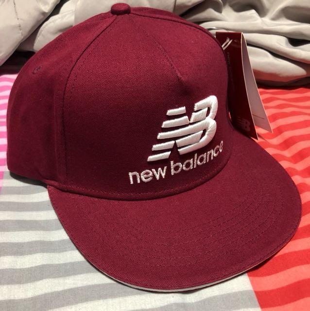 7b01361ece5 New Balance Red Cap Authentic BNWT