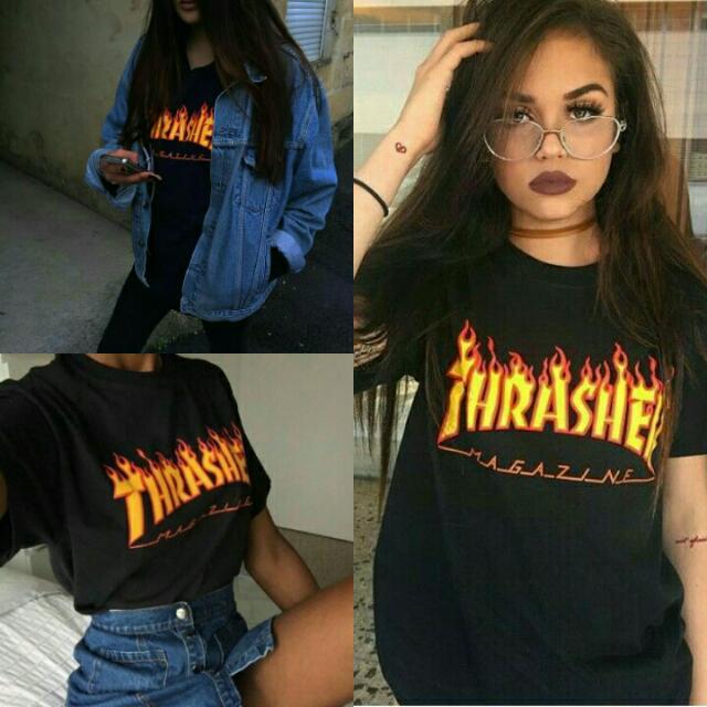 New Thrasher Black