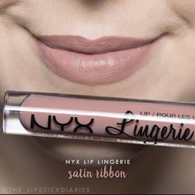NYX Lip Lingerie shade no 7 Satin Ribbon