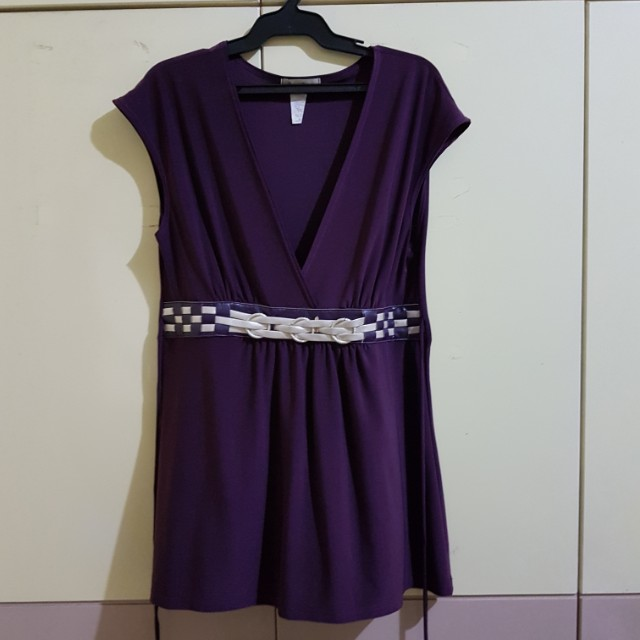 One Clothing Violet sleeveless