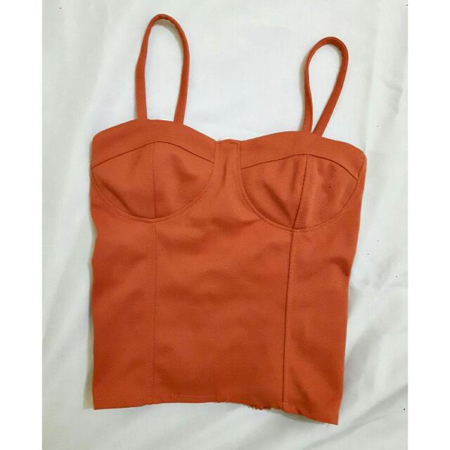 Orange Bustier