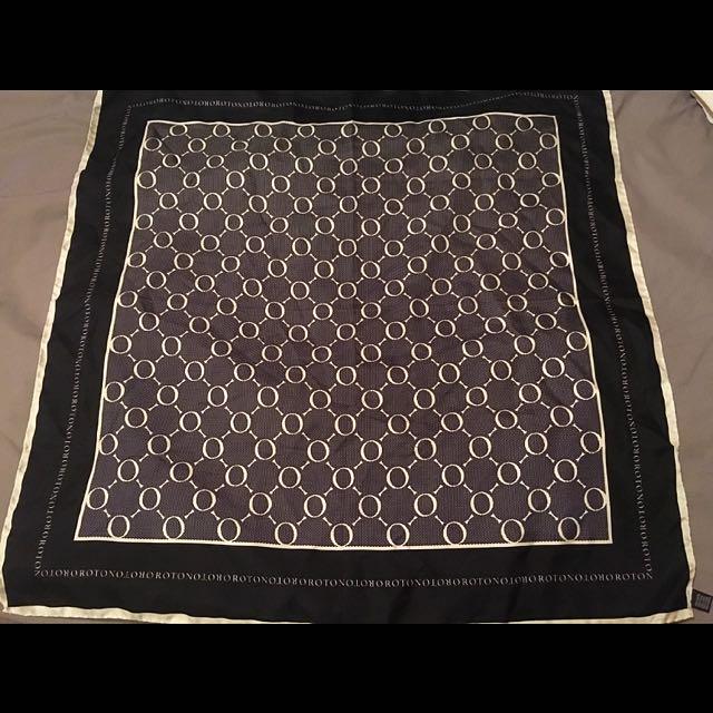 Oroton silk scarf