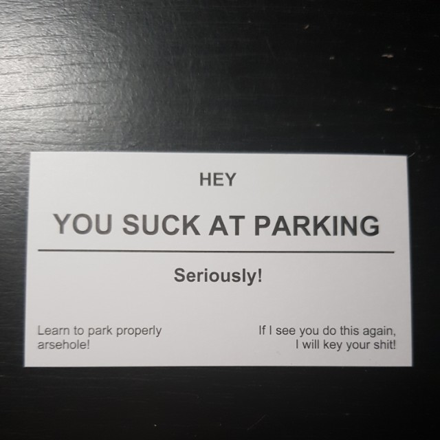 Parking Cards