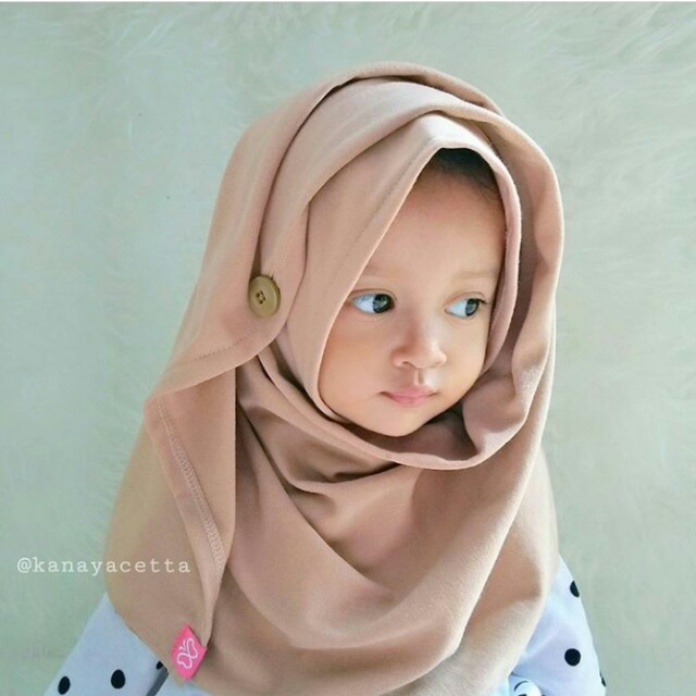 pashmina instan anak jilbab kerudung