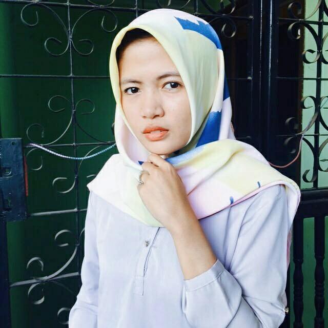 Pattern Hijab Square
