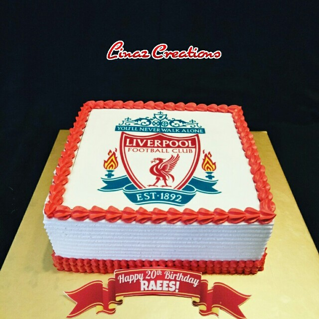 Liverpool Birthday Cake Need A Cake Contact Us At