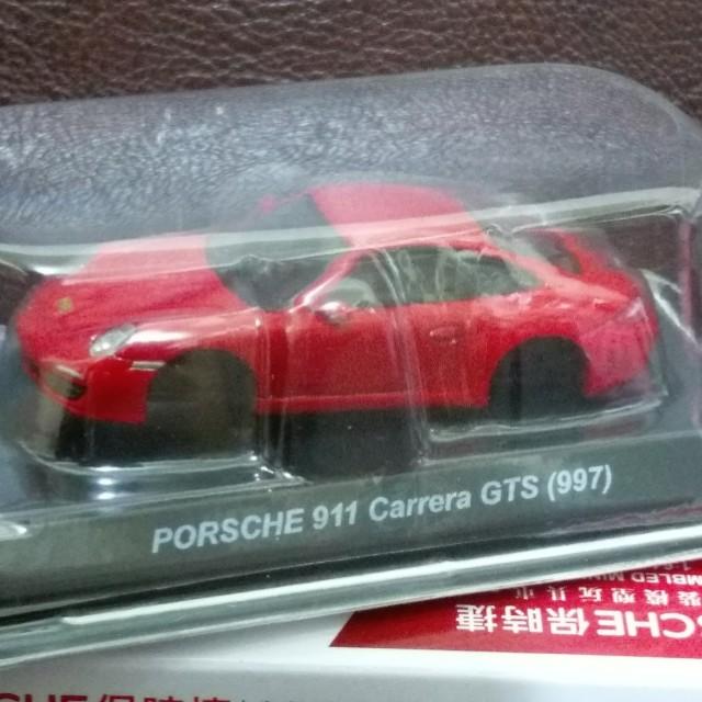 半組裝模型玩具車(PORSCHE保時捷)