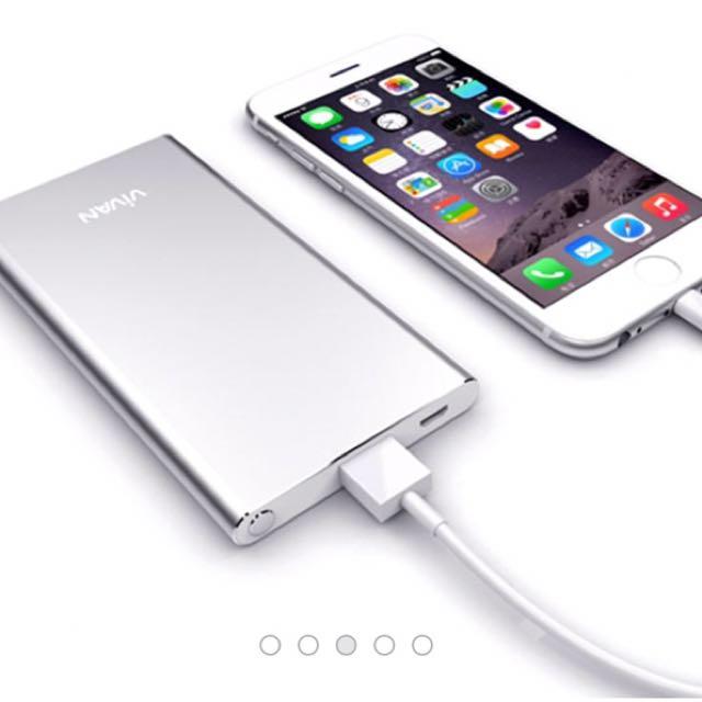 Powerbank vivan b5 5.200mah, Mobile Phones & Tablets, Mobile & Tablet Accessories on Carousell