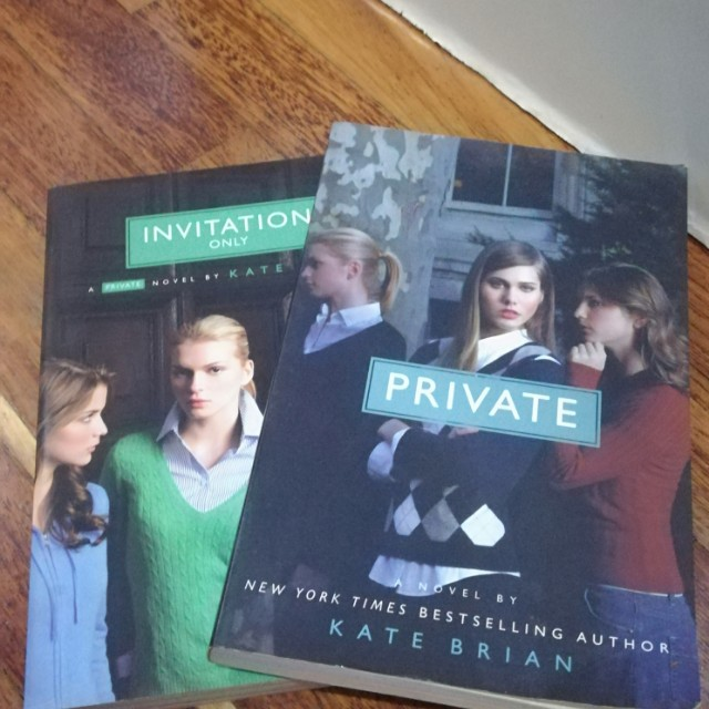 Private invitation only by kate brian books stationery photo photo photo photo stopboris Gallery