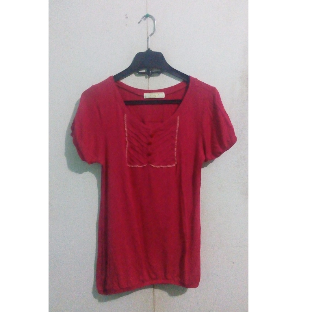 Red Girl Blouse