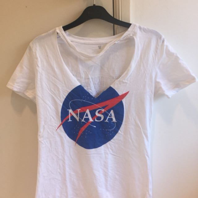 REWORKED CHOKER NASA TEE SHIRT