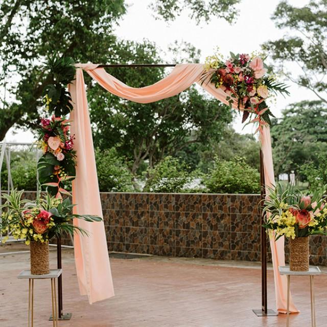 Rom wedding solemization arch decoration design craft craft photo photo junglespirit Choice Image