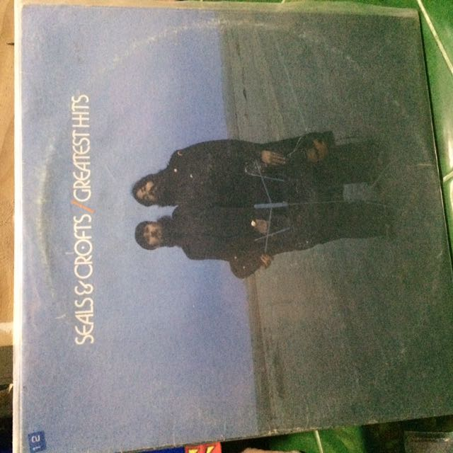 Seals&Crofts Greatest Hits Album Vinyl Records Plaka LP