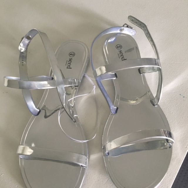 Seed heritage jelly sandals
