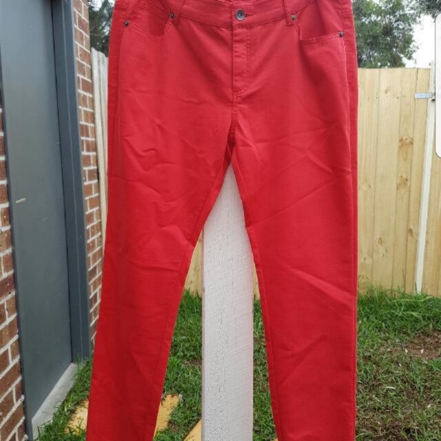 Seed Jeans in Red size 12 Brand new with tags. I paid $99.95