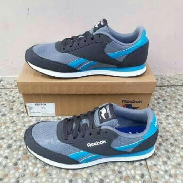 Sepatu Sneakers Cewek Cowok Reebok Orginal BNIB Tipe Royal CL JOG 2 AKU BD4316