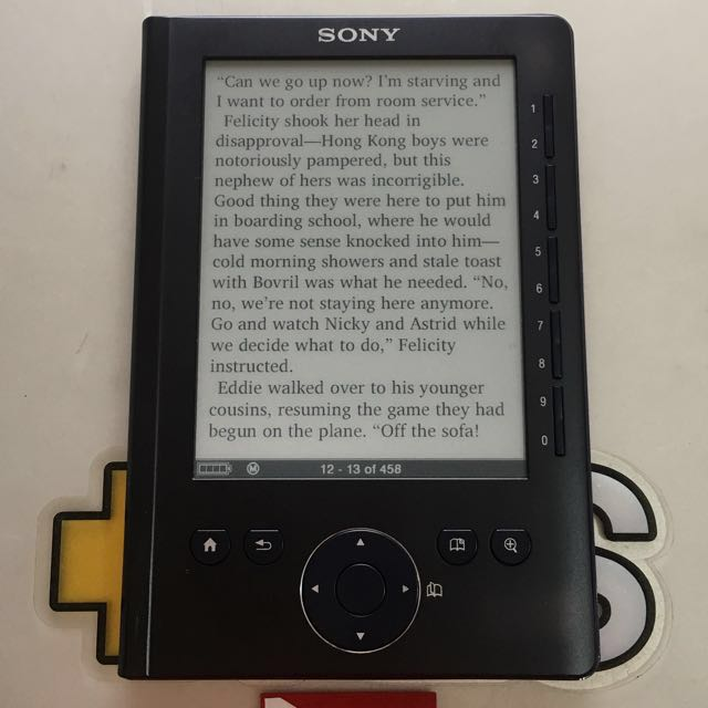 sony reader prs 300 ebook reader like kindle kobo and nook rh ph carousell com Sony Digital Book Reader PRS-300 Sony Reader PRS-300 Manual