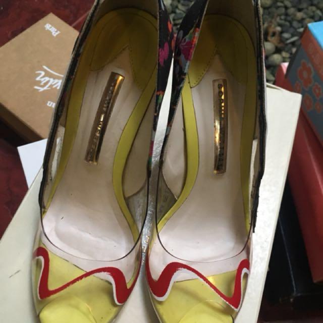 Sophia Webster floral heels