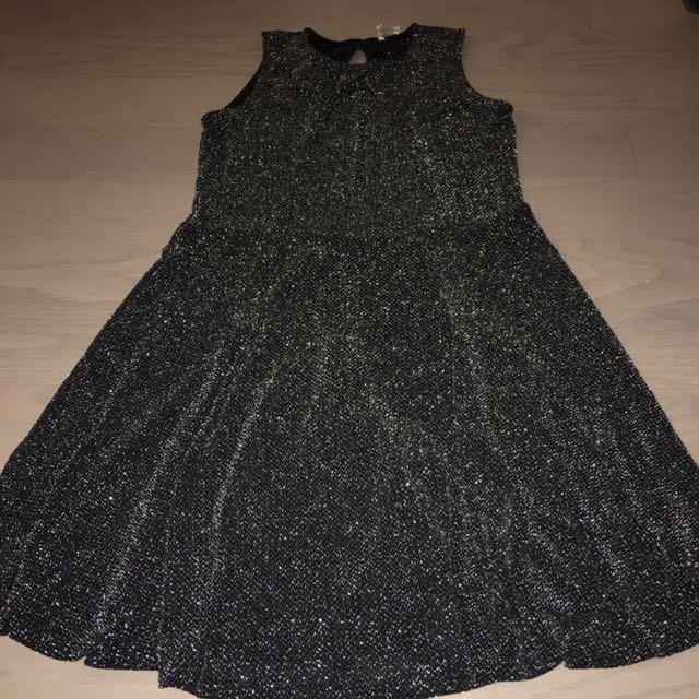 Sparkling grey dress small