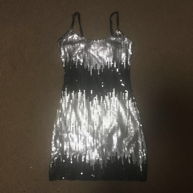 Sparkly mini dress size small, from overseas
