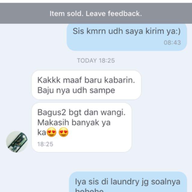 Testi from the customer!😍