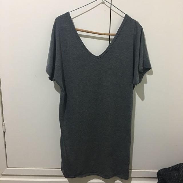 tshirt dress (ties on the side)