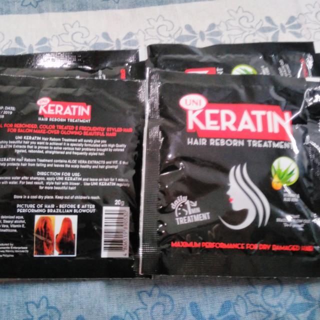 Uni Keratin hair treatment