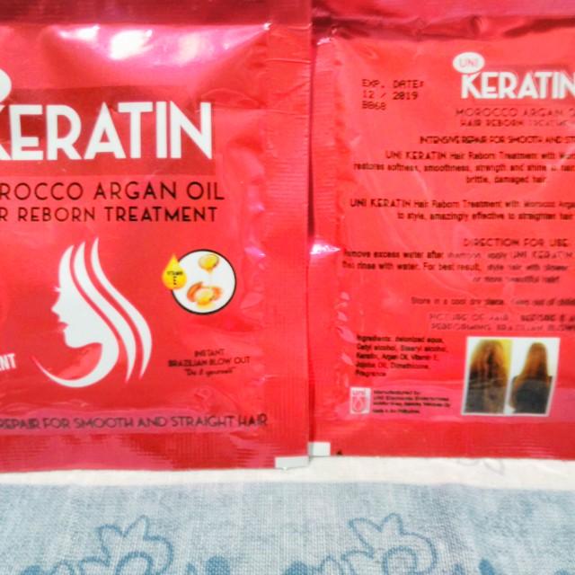 Uni Keratin w/ Morocco Argan oil