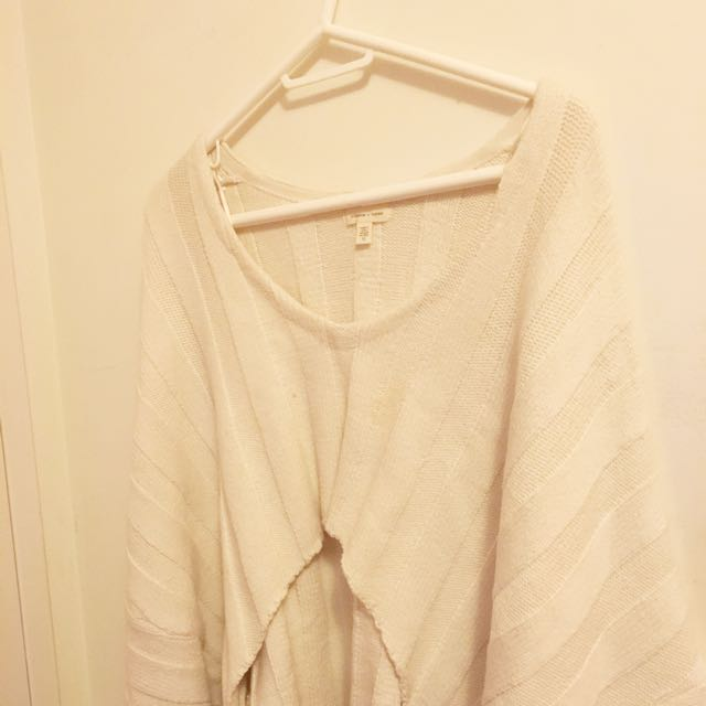 Urban Outfitters Slouchy Sweater- Cream