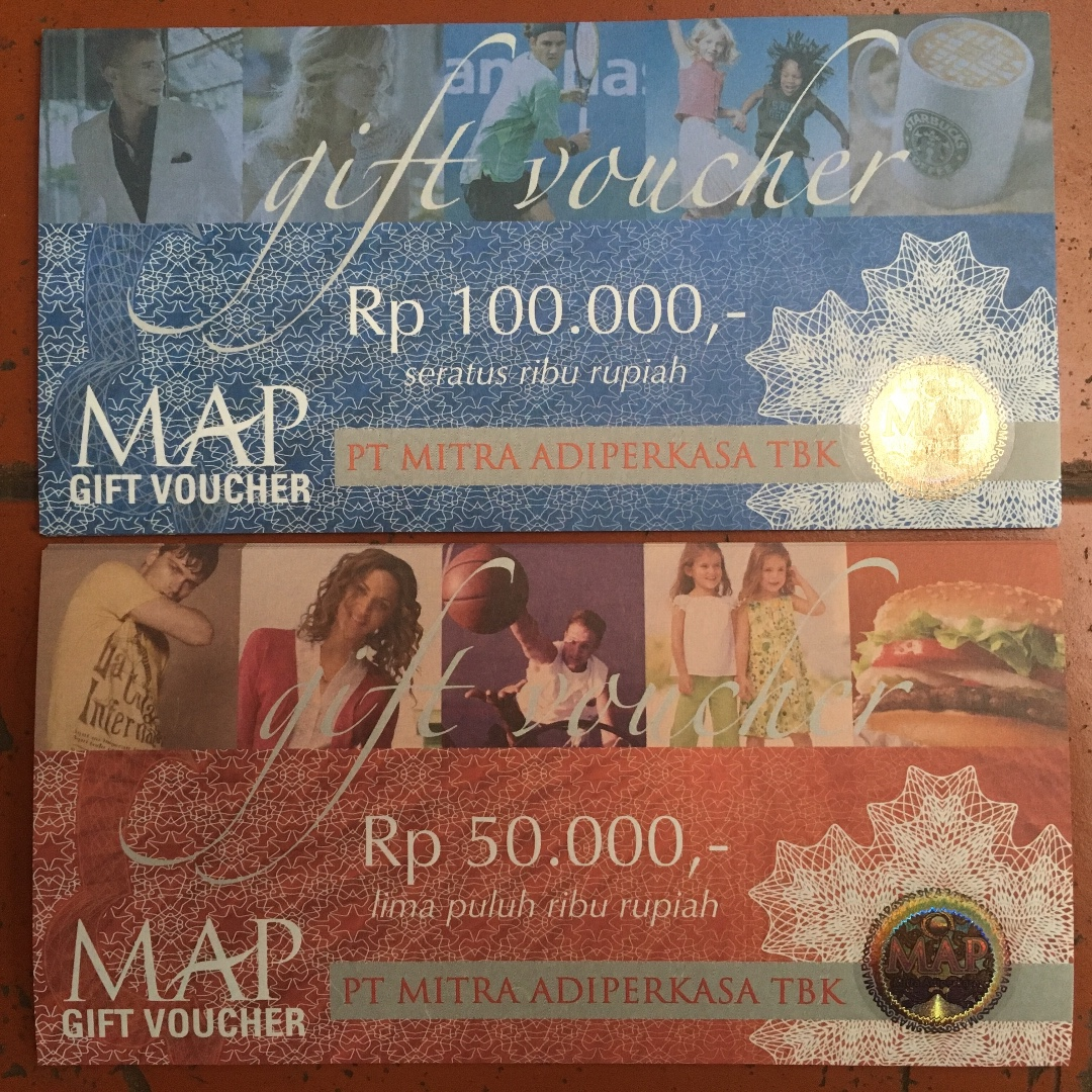 Voucher MAP 100 ribu