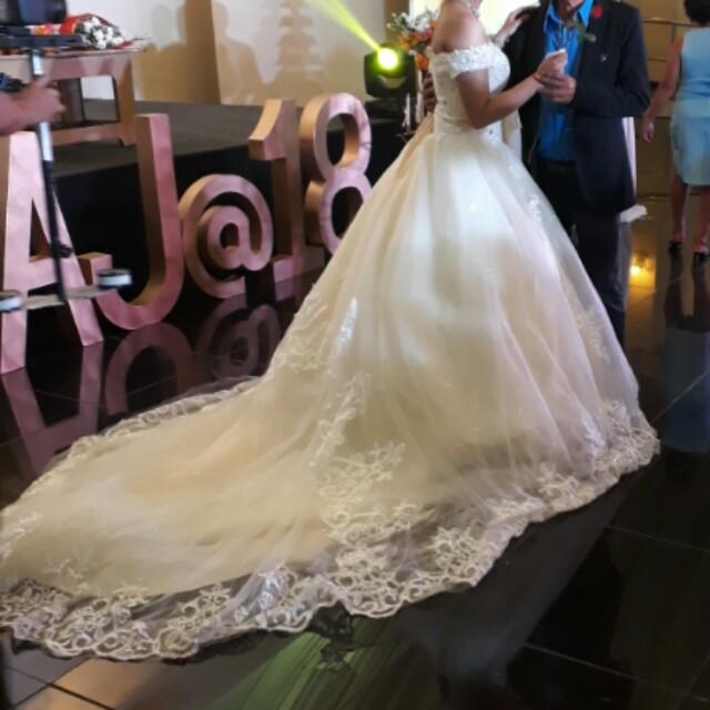 Wedding/debut gown