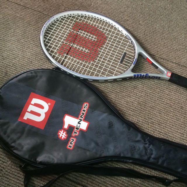 Wilson Titanium Graphite Tennis Racquet