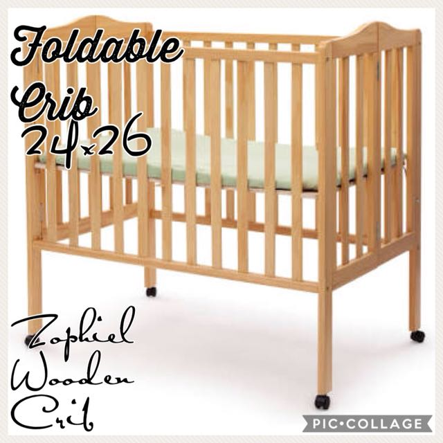 crib me in portable foldable cribs from furniture folding baby dream espresso on buy