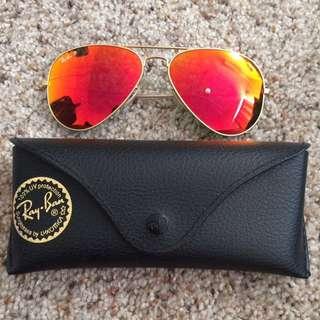 Brand New RayBan aviator sunglasses