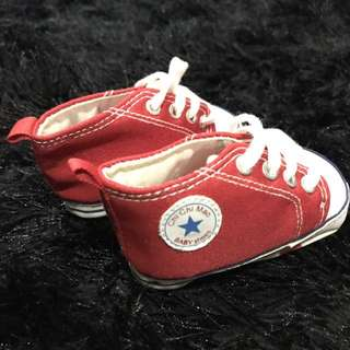 Inspired by Converse Baby shoes 0-3months