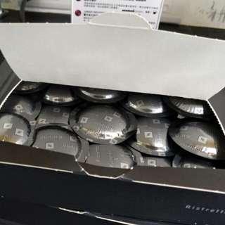 207/12/31到期,全新雀巢nespresso  Ristretto瑞斯崔朵 商用咖啡膠囊 濃度9