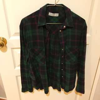 Pull&bear flannel