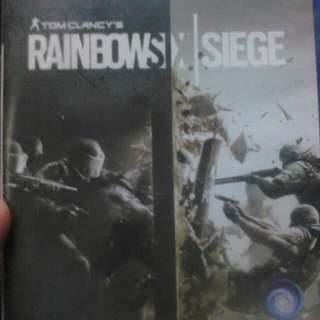 PS4 Used Rainbowsix Siege