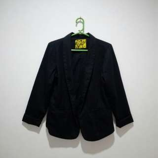 Mint Blazer Black