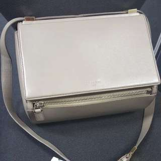 Authentic GIVENCHY Pandora box in taupe
