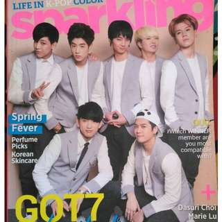 Got7 & Boys Republic (Sparkling Magazine)