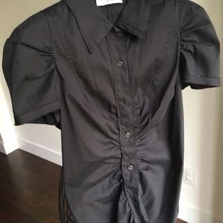 Prada Black Button Down shirt