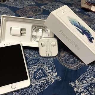 iPhone 6s plus 64g 銀色