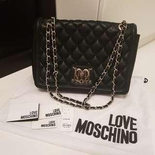 Moschino mini sling bag