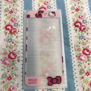 包平郵 Hello Kitty iphone 6 or 6S 前玻璃貼