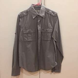be5992e568f American Vintage Gray Polo (M)