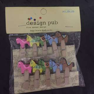 Colorful Horse Clips