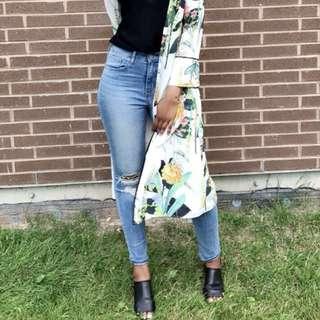 Zara long kimono